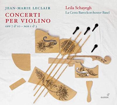 Leclair – Concerti per Violino volume 2